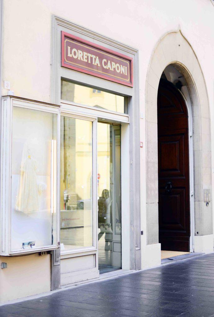 Loretta Caponi Shopping Villa Lena Florence Tuscany